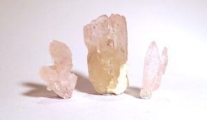 Rose Quartz Natural Crystals