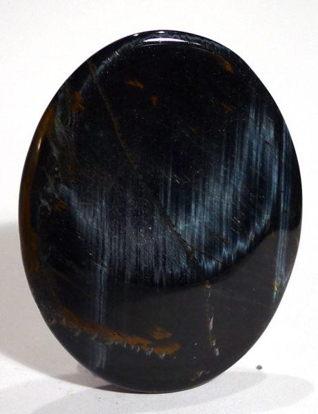 Blue Tiger's Eye Thumb Stone