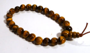 Gold Tiger's Eye Karma Bracelet