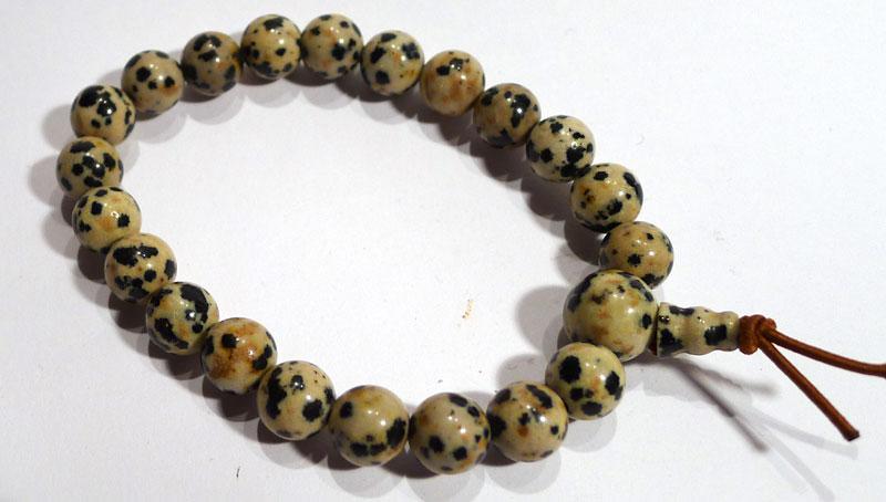 Dalmatian Jasper Karma Bracelet