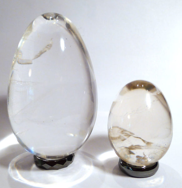 Clear Quartz Egg, extra grade