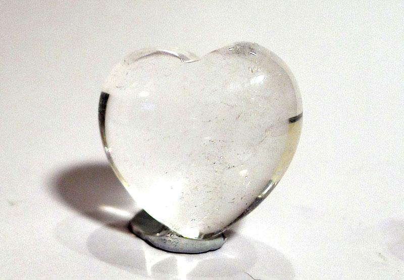 Clear Quartz Heart
