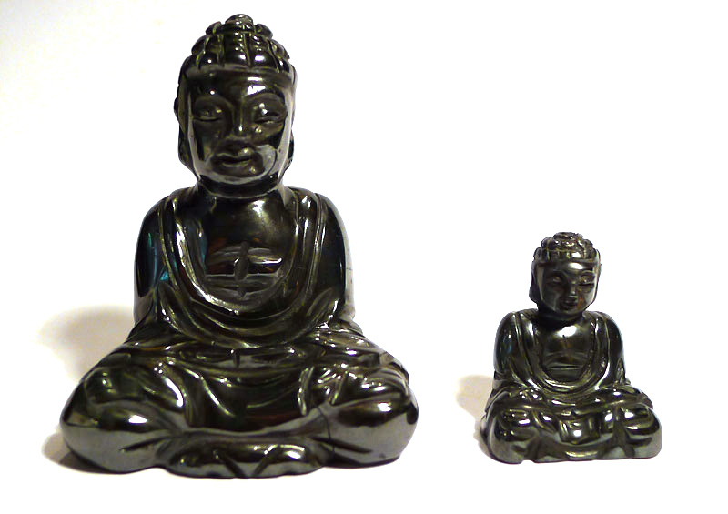 Buddha and Kwan Yin
