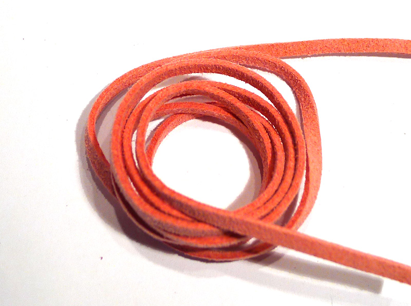 Pink Suede Thong