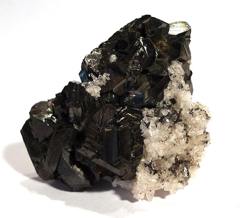 Hematite (specular) with Quartz