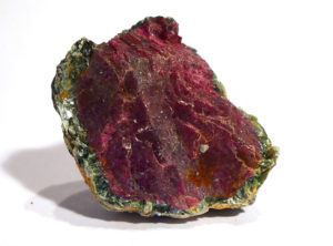 Ruby Crystal encrusted with Fuchsite