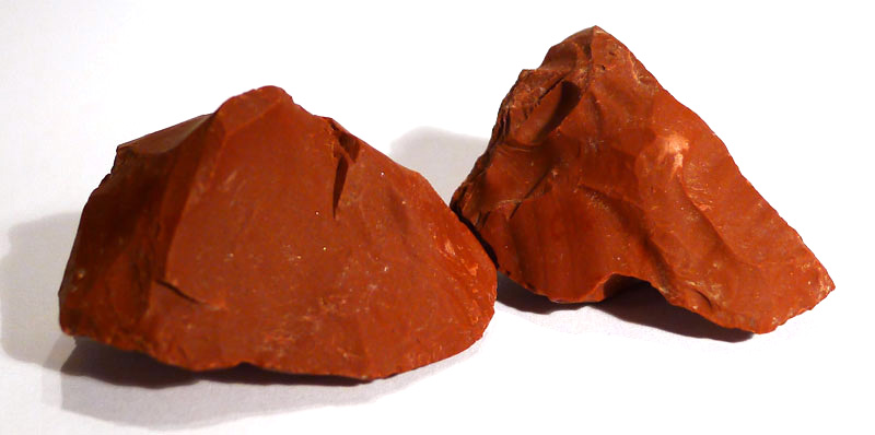 Red Jasper, rough