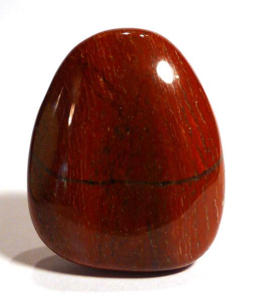 Red Jasper Drilled Tumble Stone