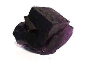 Violet Fluorite Crystal