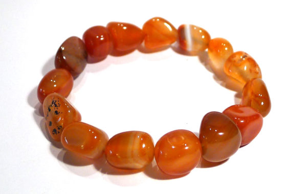 Carnelian Large Stone Bracelet