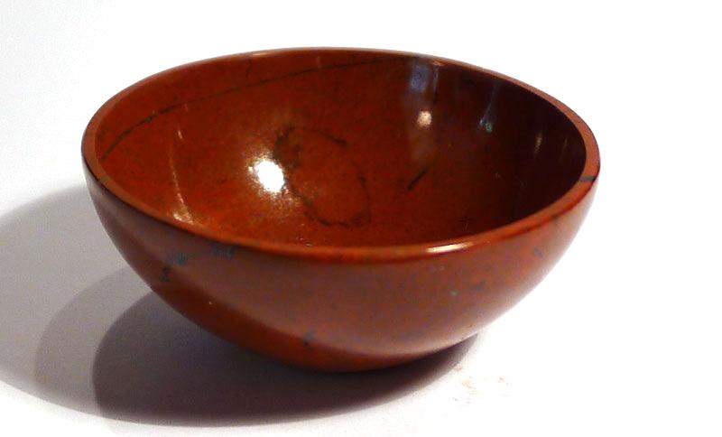 Red Jasper Bowl