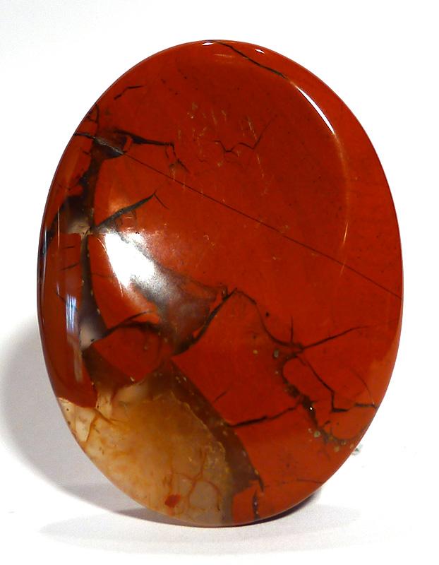 Red Jasper Thumb Stone