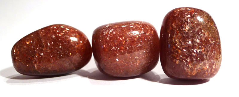 Red Mica Tumble Stone