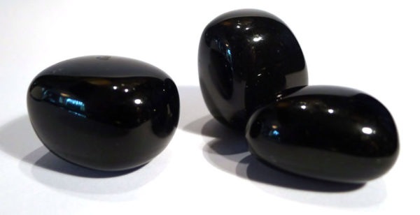 Black Obsidian Tumble Stone