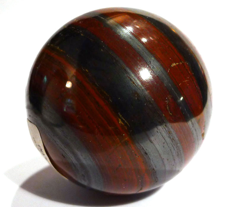 Tiger Iron Sphere