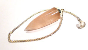 Rose Quartz Drop Pendulum