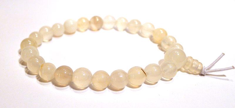 White Onyx Karma Bracelet
