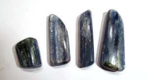 Polished Blue Kyanite, India