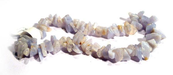 Blue Lace Agate Chip Bracelet 1