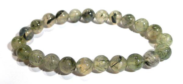 Prehnite with Epidote Karma Bracelet 1