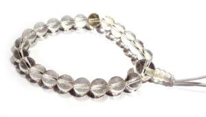 Clear Quartz Karma Bracelet