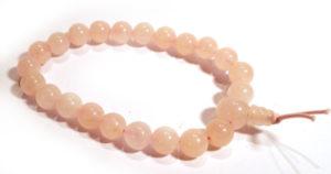 Rose Quartz Karma Bracelet