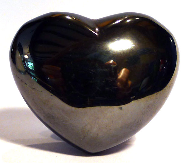 Hematite Heart 1