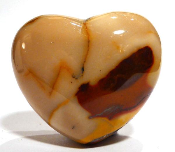 Mookaite Jasper Heart 1