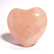 Rose Quartz Heart, small