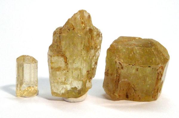Yellow Apatite Crystal 1