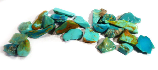 Turquoise, offcuts from Native America Jewellery Making 1