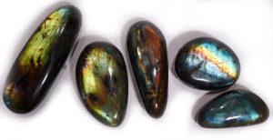 Labradorite Flat Pebble