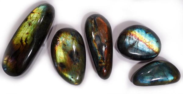 Labradorite Flat Pebble 1