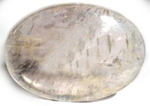 Clear Quartz Palm Stone