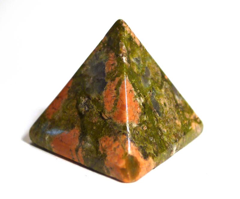 Unakite Pyramid 1