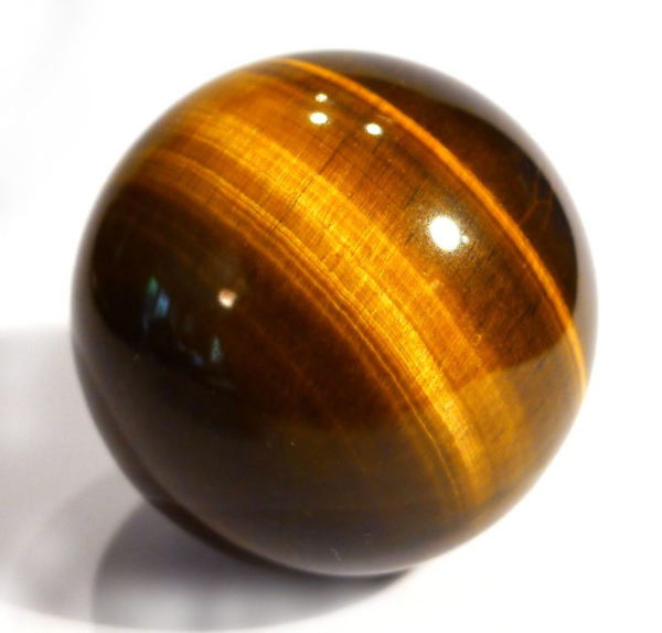 Gold Tiger's Eye Sphere 1