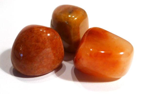 Peach Aventurine Tumble Stone 1