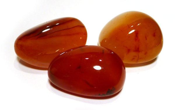 Carnelian Tumble Stone, Brazil 1