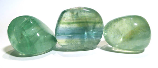 Green Fluorite Tumble Stone 1