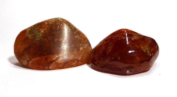 Hessonite Garnet Tumble Stone 1