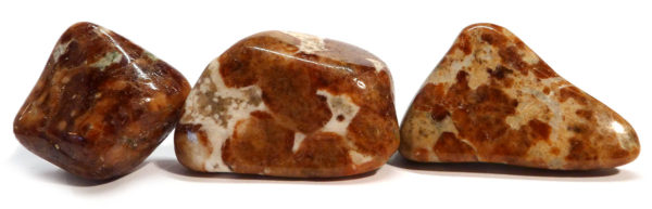 Hessonite Garnet Tumble Stone 1