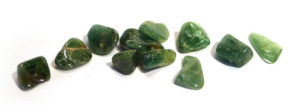 Tsavorite Garnet Tumble Stone
