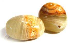 Cream Onyx Tumble Stone