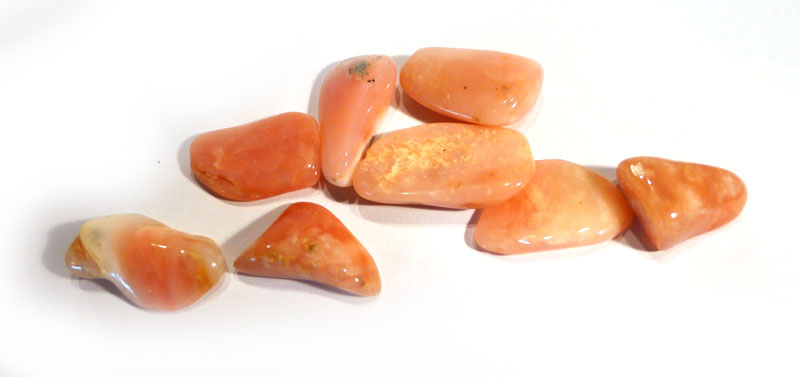 Rose Opal (Pink Andean Opal) Tumble Stone