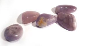 """""""Purple Royal Aztec"""" Tumble Stone"""