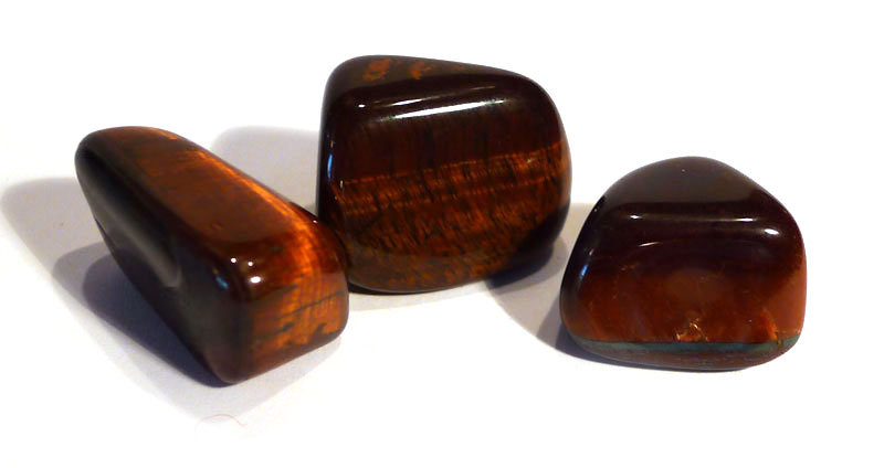 Red Tiger's Eye Tumble Stone