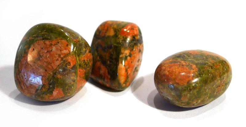 Unakite Tumble Stone