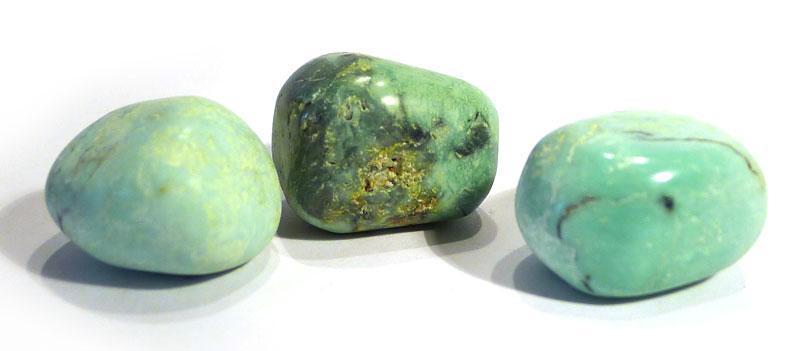 Green Variscite Tumble Stone 1