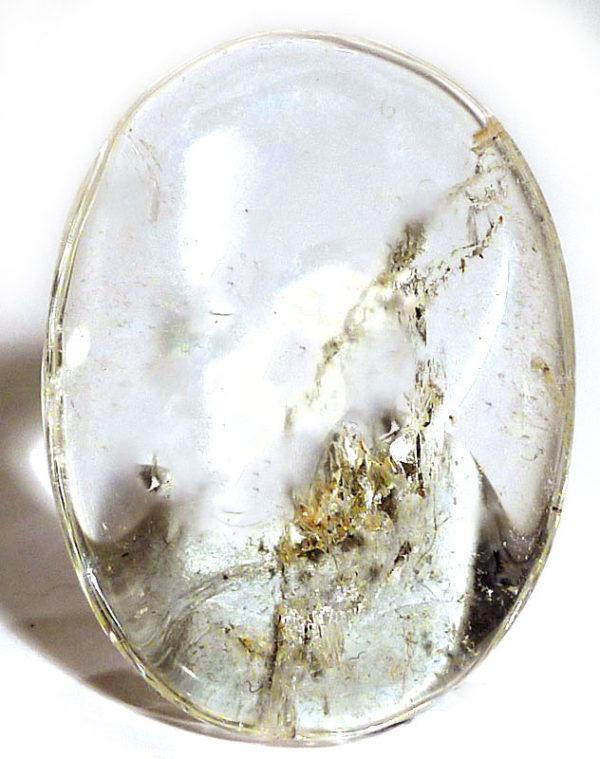 Clear Quartz Thumb Stone 1