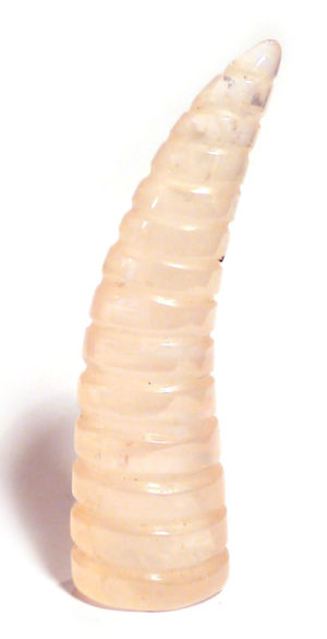 Rose Quartz Unicorn Horn